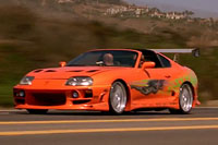 Toyota Supra - The Fast & The Furious